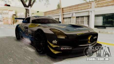 Mercedes-Benz SLS AMG GT3 PJ3 para GTA San Andreas vista traseira