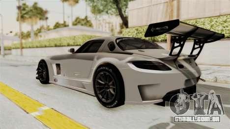 Mercedes-Benz SLS AMG GT3 PJ3 para GTA San Andreas vista direita