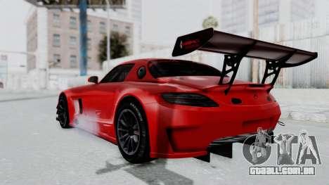 Mercedes-Benz SLS AMG GT3 PJ6 para GTA San Andreas esquerda vista