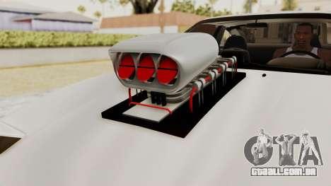 Nissan 240SX Monster Truck para GTA San Andreas vista traseira