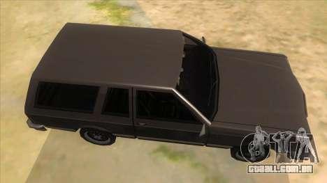 Regina Coupe para GTA San Andreas vista interior