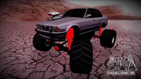 BMW M5 E34 Monster Truck para GTA San Andreas