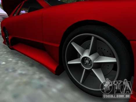 Elegy PFR v1.0 para GTA San Andreas vista direita