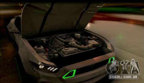 Ford Mustang RTRX Coupe para GTA San Andreas vista direita