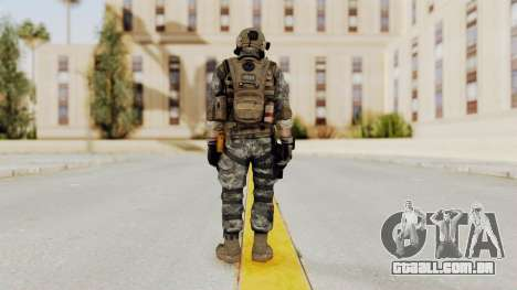 Battery Online Soldier 1 v1 para GTA San Andreas terceira tela