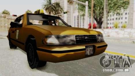 GTA 3 - Taxi para GTA San Andreas vista direita