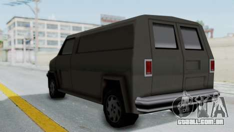 Burrito from Manhunt 2 para GTA San Andreas vista direita