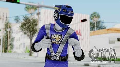 Power Rangers RPM - Blue para GTA San Andreas