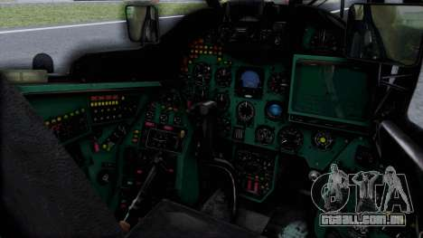 Mi-24V Russian Air Force 46 para GTA San Andreas vista direita