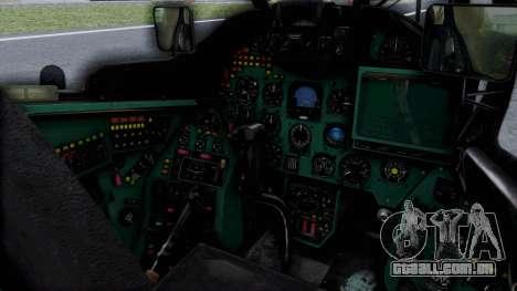 Mi-24V Russian Air Force 46 para GTA San Andreas vista direita