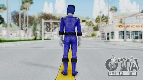 Power Rangers RPM - Blue para GTA San Andreas terceira tela