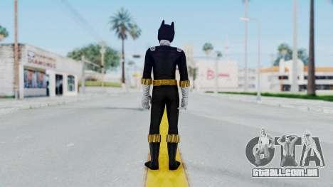 Power Rangers RPM - Black para GTA San Andreas terceira tela
