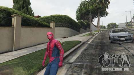 GTA 5 Homem-aranha quarto screenshot