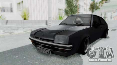 Opel Manta B1 CC para GTA San Andreas