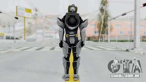 Power Rangers Megaforce - Knight para GTA San Andreas terceira tela