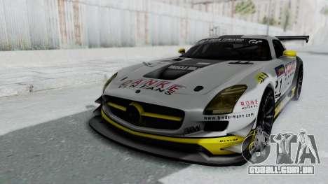 Mercedes-Benz SLS AMG GT3 PJ6 para GTA San Andreas vista inferior