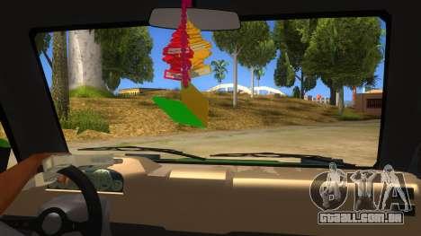 Toyota Kijang Grand Extra IKC para GTA San Andreas vista interior
