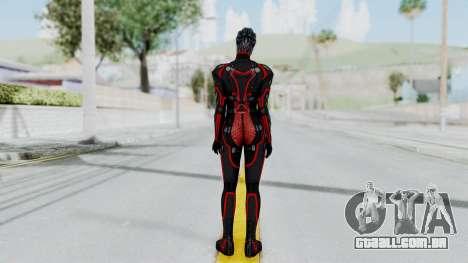 Mass Effect 2 Monrith Commando para GTA San Andreas terceira tela