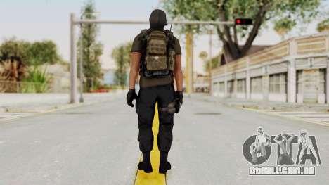 CoD AW KVA SMG para GTA San Andreas terceira tela