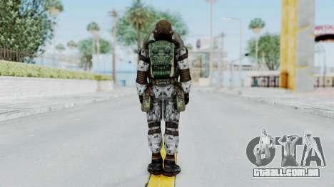 Monolith Scientific Suit para GTA San Andreas terceira tela