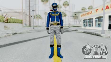 Power Rangers Megaforce - Blue para GTA San Andreas segunda tela