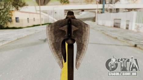 Skyrim Iron Mace para GTA San Andreas segunda tela