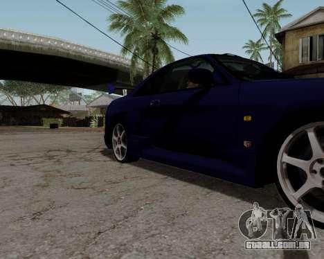 Nissan R33 GT-R Tunable para as rodas de GTA San Andreas