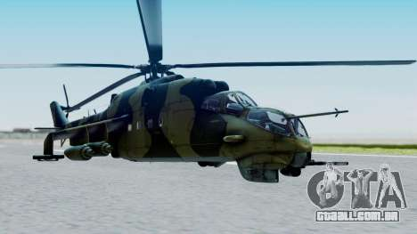 Mi-24V Sri-Lanka Air Force CH621 para GTA San Andreas