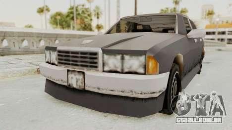 GTA 3 Mafia Sentinel para GTA San Andreas vista direita