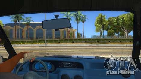 Dacia Solenza V2 para GTA San Andreas vista interior