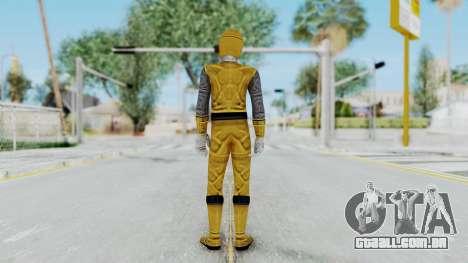 Power Rangers Ninja Storm - Yellow para GTA San Andreas terceira tela