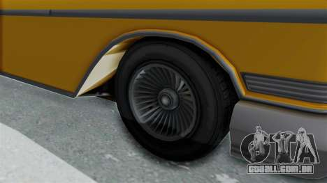 GTA 5 Declasse Tornado Bobbles and Plaques IVF para GTA San Andreas vista traseira