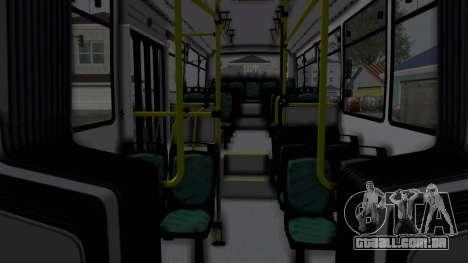 TodoBus Pompeya II Scania K310 Linea 28 Trailer para GTA San Andreas traseira esquerda vista