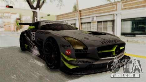 Mercedes-Benz SLS AMG GT3 PJ3 para o motor de GTA San Andreas