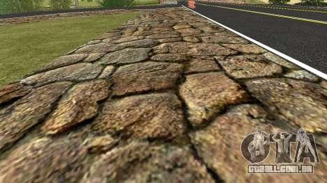 Novas texturas Penal, Rússia para GTA San Andreas por diante tela