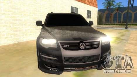 Volkswagen Touareg HQ para GTA San Andreas vista traseira