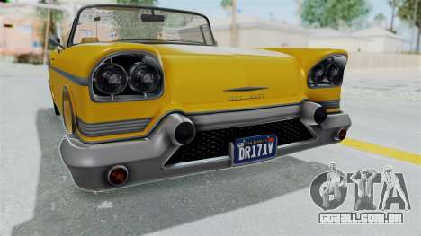 GTA 5 Declasse Tornado Bobbles and Plaques IVF para GTA San Andreas vista interior