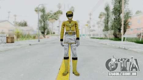 Power Rangers Megaforce - Yellow para GTA San Andreas segunda tela