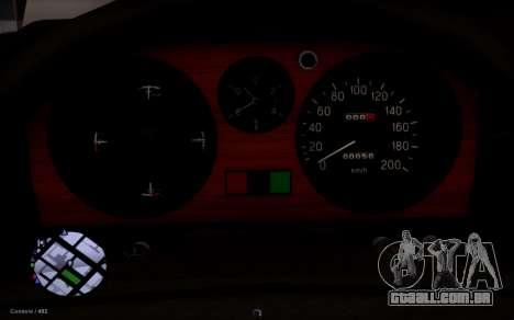 GAZ 31029 Volga para GTA San Andreas vista traseira