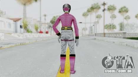 Power Rangers Samurai - Pink para GTA San Andreas terceira tela