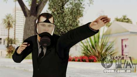 Wanted Weapons Of Fate Bodyguard para GTA San Andreas
