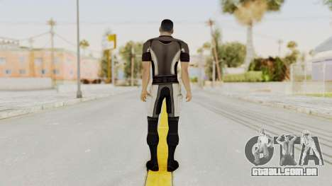 Mass Effect 2 Shepard Casual para GTA San Andreas terceira tela