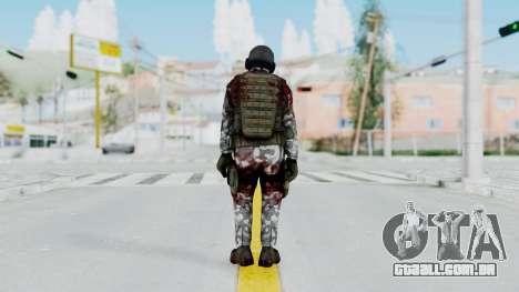 Black Mesa - Wounded HECU Marine v1 para GTA San Andreas terceira tela