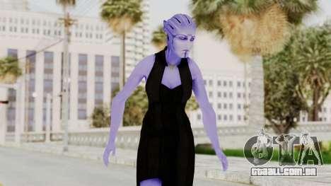 Mass Effect 3 Aria TLoak Gunn Dress para GTA San Andreas