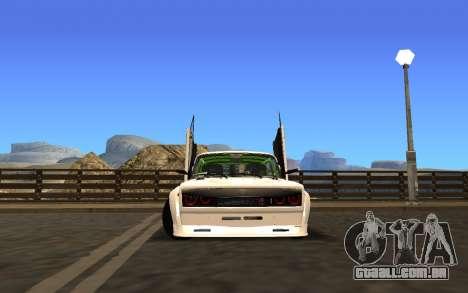 VAZ 2107 Race para GTA San Andreas esquerda vista