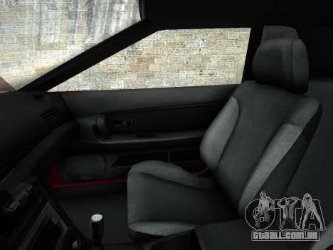 Elegy PFR v1.0 para GTA San Andreas vista superior