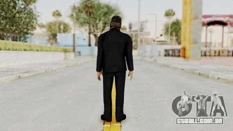 Wanted Weapons Of Fate Bodyguard para GTA San Andreas terceira tela