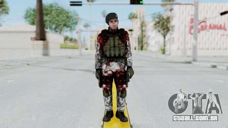 Black Mesa - Wounded HECU Marine Beret para GTA San Andreas segunda tela