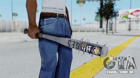 Nail Baseball Bat v5 para GTA San Andreas terceira tela