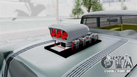 Pontiac Safari 1956 Monster Truck para GTA San Andreas vista traseira